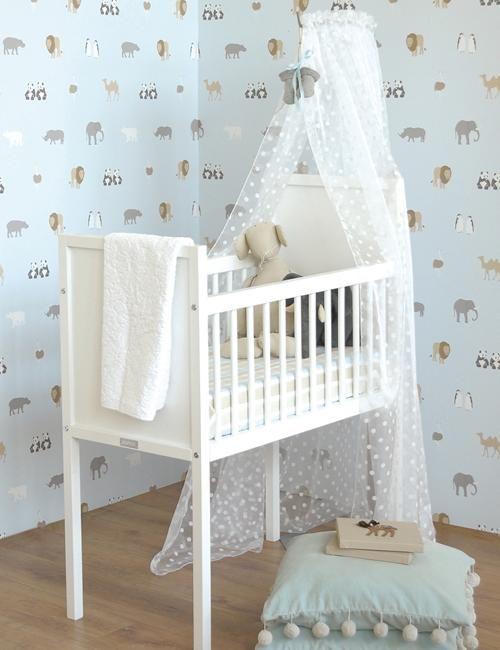 17 mejores im genes sobre papel pintado para beb s en - Papel pintado habitacion bebe ...