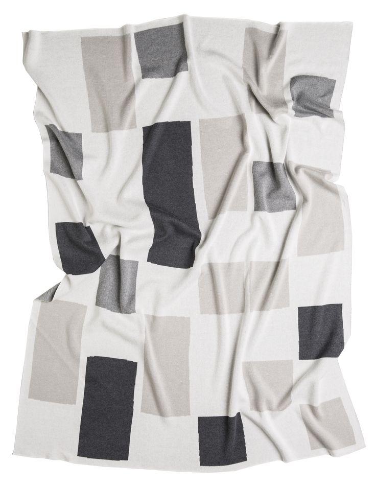 THE ELLA X LARGE BLANKET - Grey/Cloud/White. Shop here: http://kateandkate.com.au/shop/blankets/the-ella-x-large-blanket-grey-cloud-white/ // #exhalebykateandkate #kateandkate #kkblankets #interior #design #home #bed #bedroom #inspo #textiles #grey