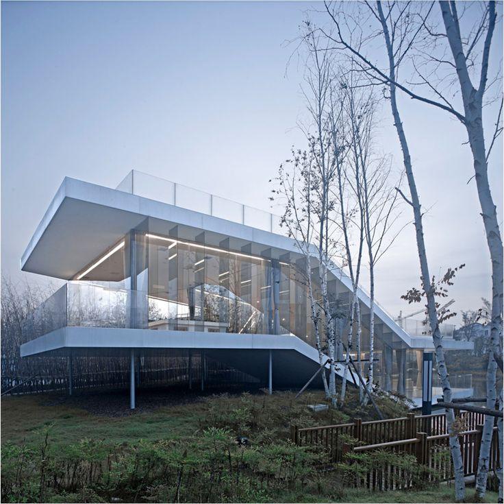 TAO: Riverside Clubhouse, Yancheng, Jiangsu, China