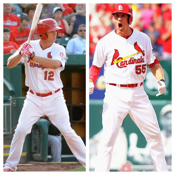 ‪#‎TransformationTuesday to when Stephen Piscotty was a Springfield Cardinal! Now he is leading the St. Louis Cardinals in batting average! ‪#‎TheFutureOfCardinalsBaseball