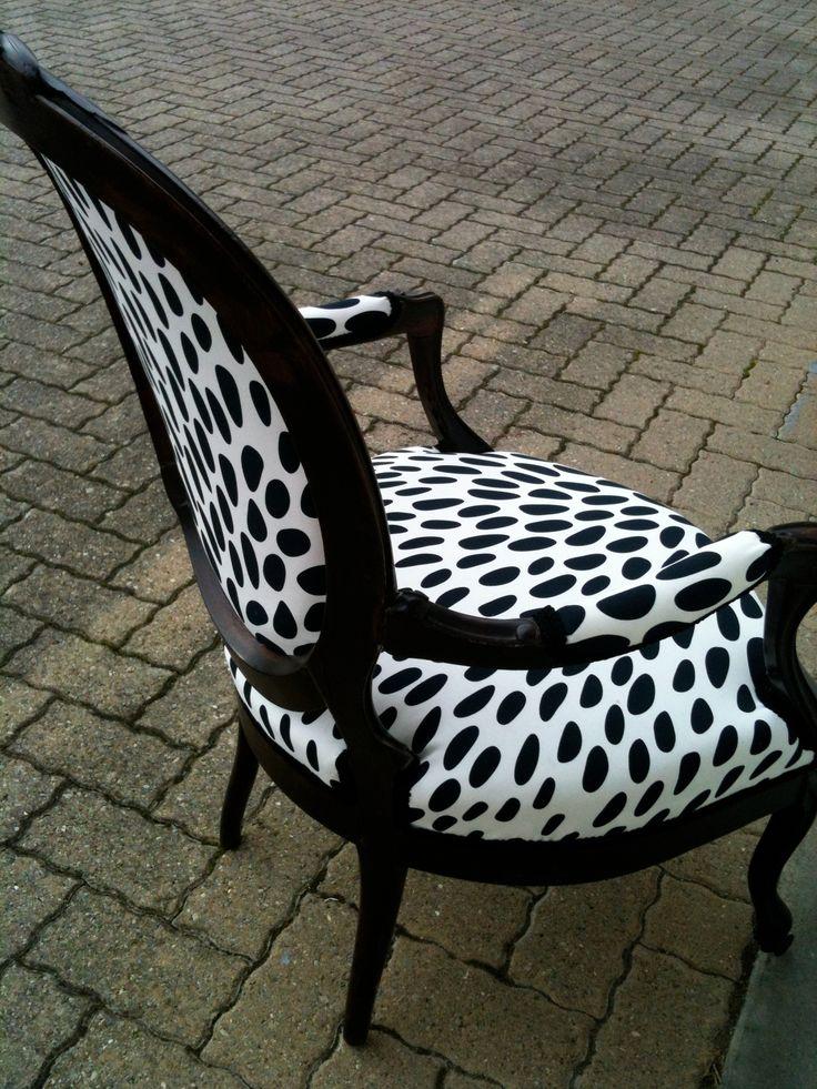 fauteuil recouvert avec tissus de gouttes fauteuils pinterest goutte fauteuils et tissu. Black Bedroom Furniture Sets. Home Design Ideas