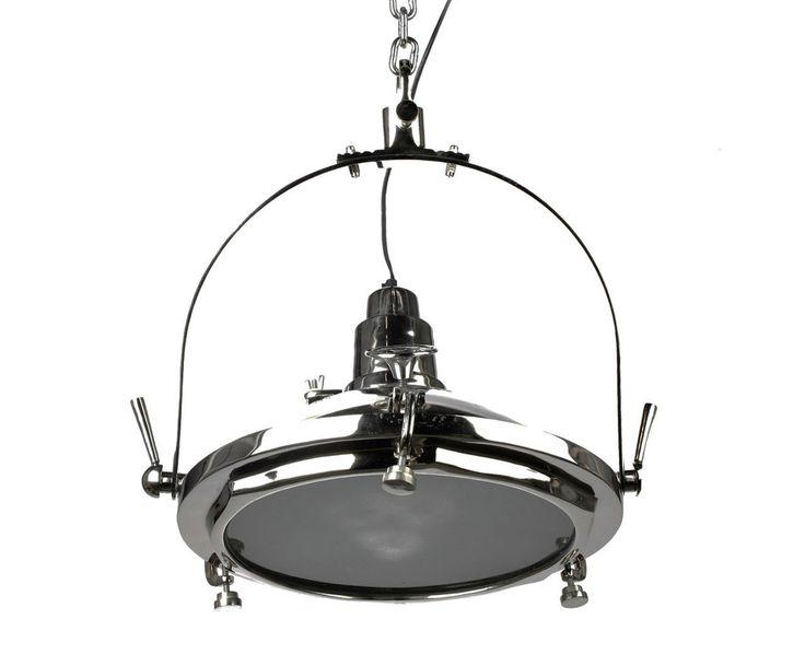 Loft lamp chrome interior design