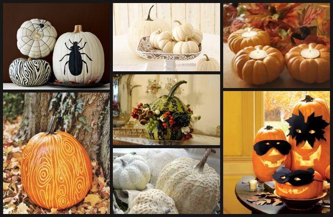 Pomysły na dekoracje z dyni - Deccoria.pl  Kliknij w zdjęcie, aby zobaczyć więcej!