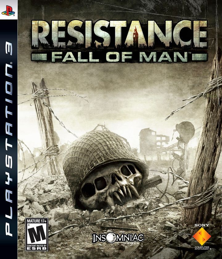 Resistance: Fall of Man (Sony PlayStation 3, 2006) Complete