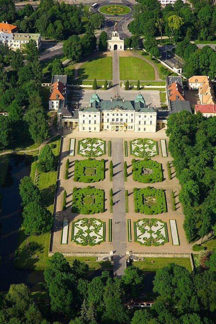 Castles in Poland • Palace of the Branicki family, Białystok, Poland.