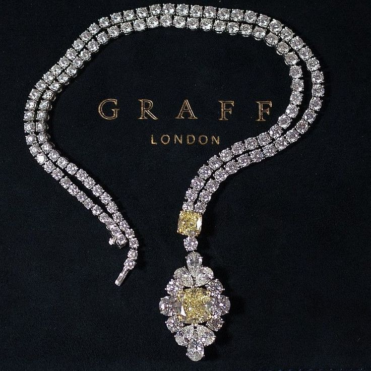 Graff Diamond Necklace #necklacediamonds