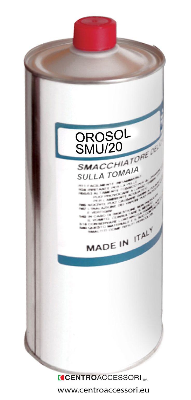 Orosolo SM/20, per togliere i residui di adesivo sulla tomaia. Universal stain remover. #CentroAccessori