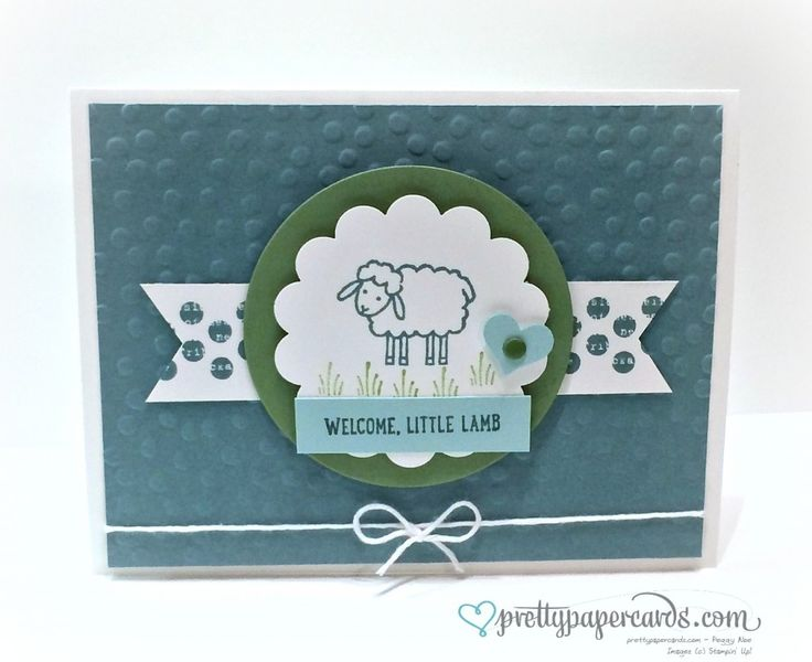 Sweet Little Lamb! - Pretty Paper Cards