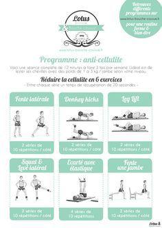 Un programme anti-cellulite de 12 minutes pour raffermir les zones souvent touchées par la cellulite et la réduire efficacement.