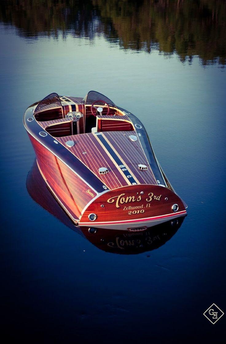 pinterest.com/fra411 #classic #wooden #boat  - Beautiful Barrelback