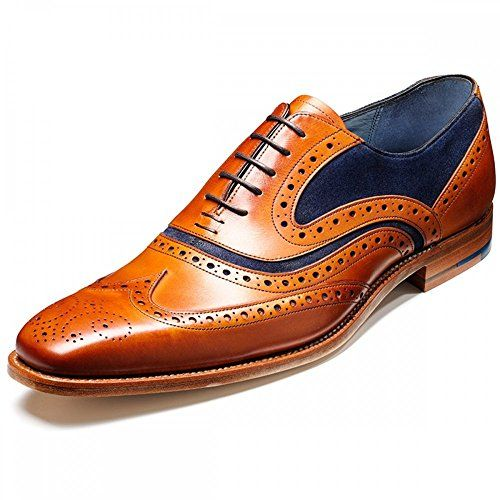 Barker Mens McClean Cedar Calf Leather Shoes 40.5 EU - http://on-line-kaufen.de/barker/40-eu-barker-shoes-mcclean-formelle
