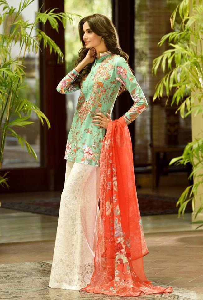 Ittehad Textile Spring/Summer Lawn Collection 2016 by Nilofer Shahid