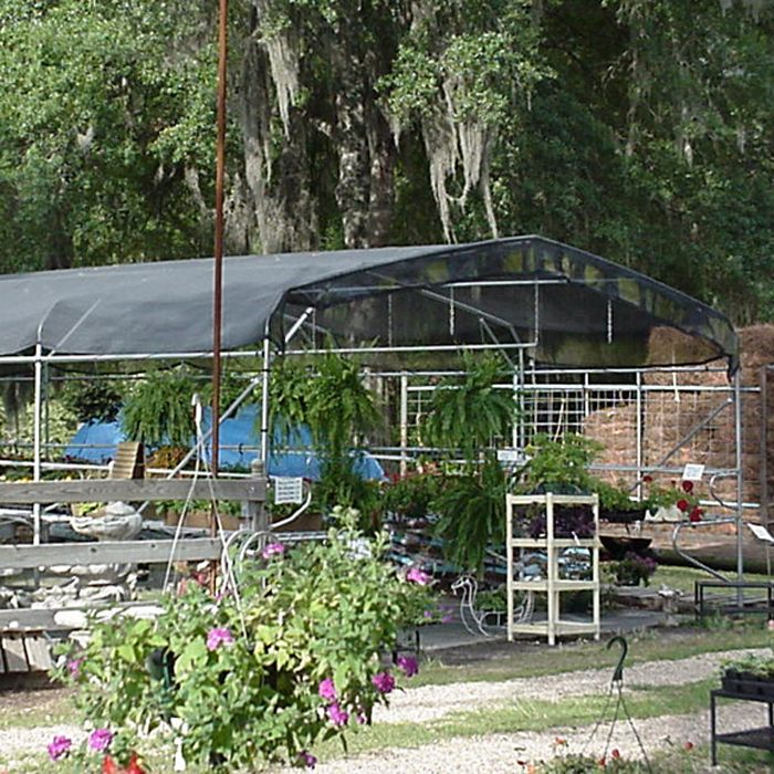 Greenhouse Shade Cloth System With 30% Shade Creation