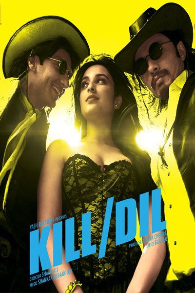 Poster Of Hindi Movie Kill Dil (2014) Free Download Full New Hindi Movie Watch Online At downloadhub.net