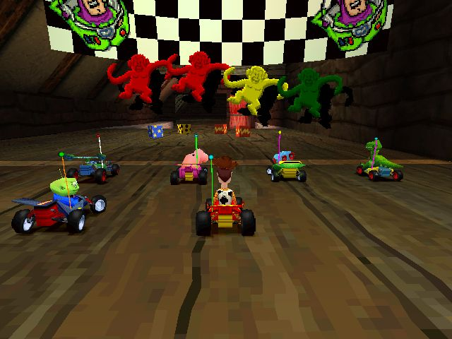 Toy Story Racer for PS1 some of my best childhood memories!