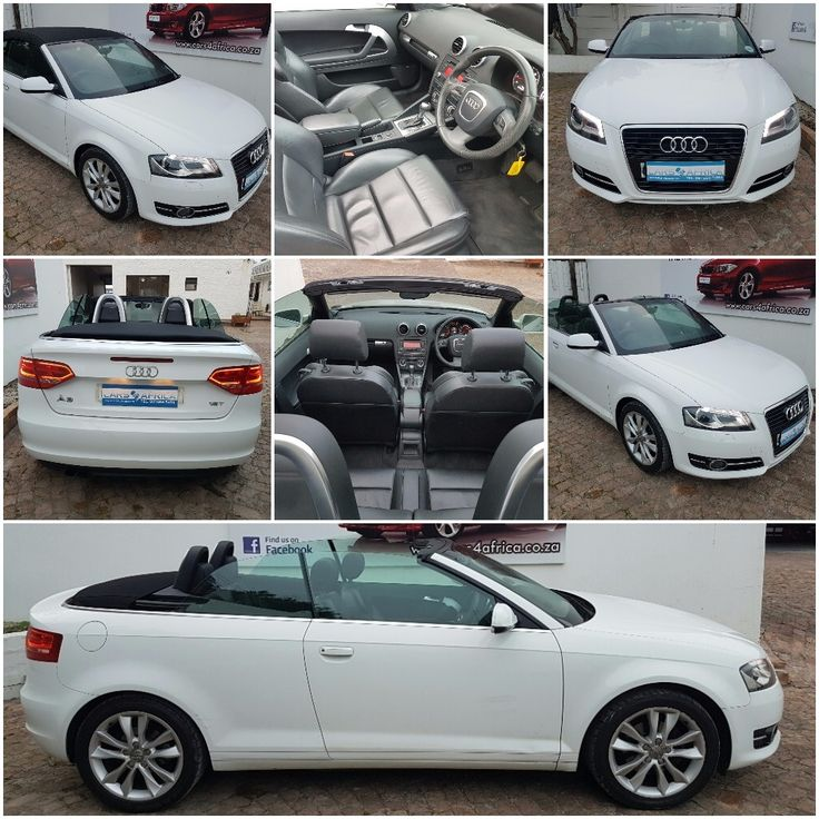 2011 Audi A3 1.8T Cabriolet Auto 82000km R 229,995.00!!! motor finance available