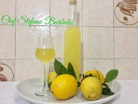 LIMONCINO / LIMONCELLO  FATTO IN CASA Ricetta Facile - Homemade Limoncello Liqueur Easy Recipe - YouTube