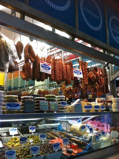 Queen Victoria Market Deli .  Melbourne Australia