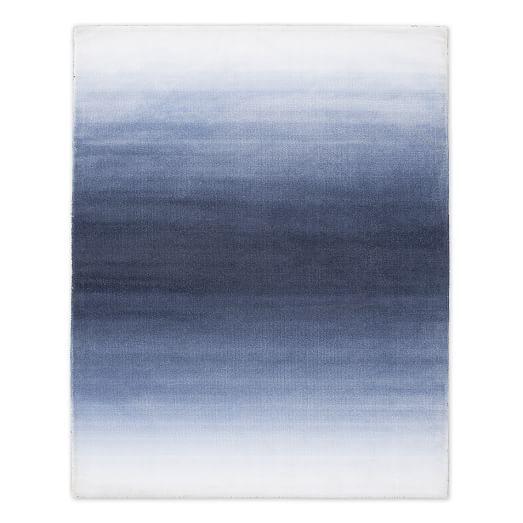 Horizon Printed Rug - Midnight | west elm