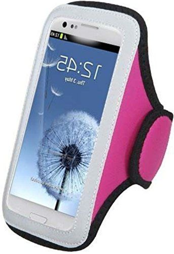 "myLife Silver, Pink, and Black {Rain Resistant Velcro Secure Running Armband} Dual-Fit Jogging Arm Strap Holder for Sony Xperia Z2 and Z3 ""All Ports Accessible"" myLife Brand Products http://www.amazon.com/dp/B00UMC7E2S/ref=cm_sw_r_pi_dp_Lecjvb1V1XV2W"