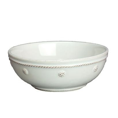 Juliska Berry and Thread White Small Pasta Coupe Bowl