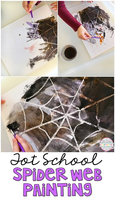 Watercolor resist painting is easy to prep and totally worth the magic for little ones.  Perfect for tot school, preschool, or the kindergarten classroom.