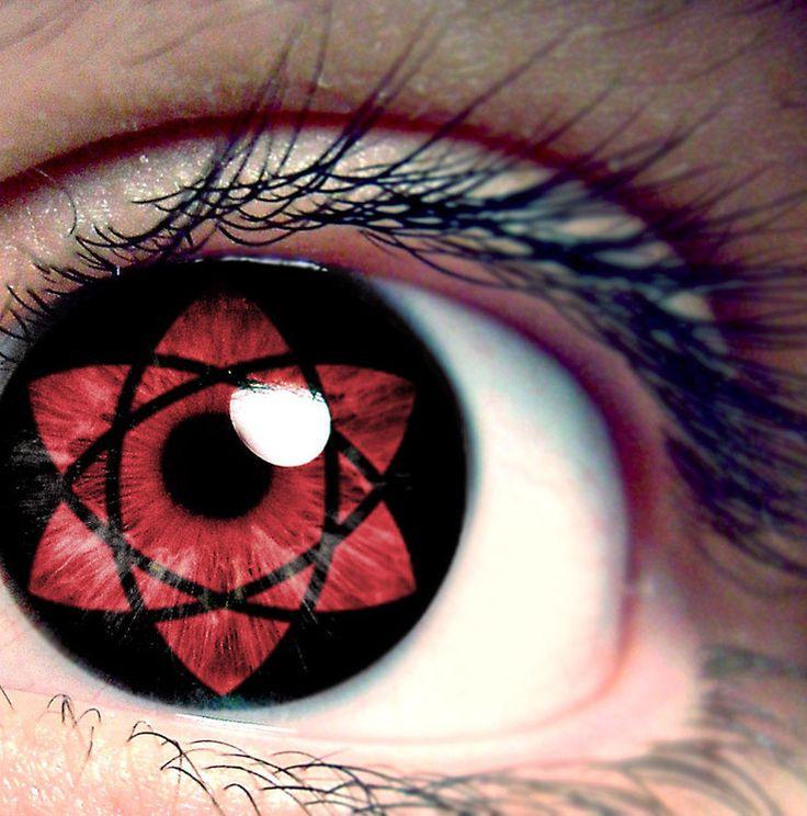 Farbige Kontaktlinsen mit Motiven