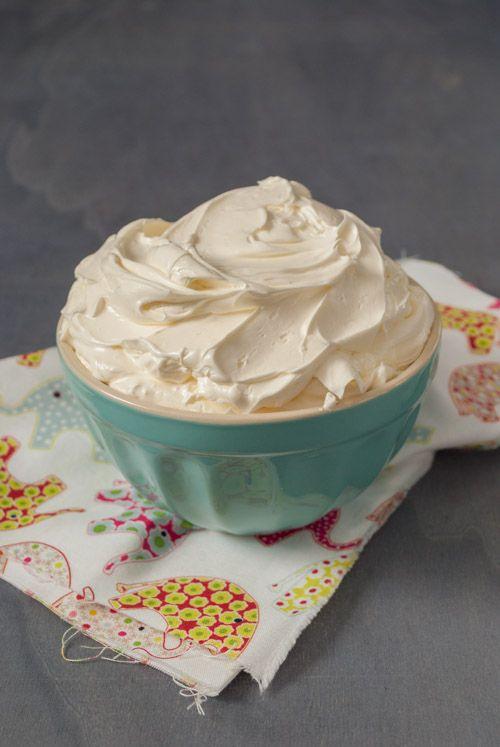 Buttercream de merengue suizo