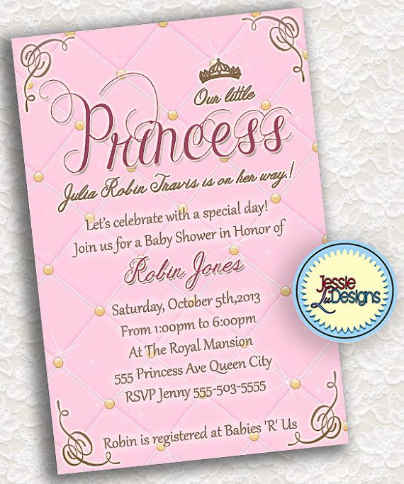 royalty prince or princess baby shower custom by jessieludesigns 9