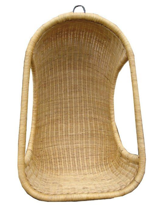Hanging Swing Chair Hand-Woven Rattan