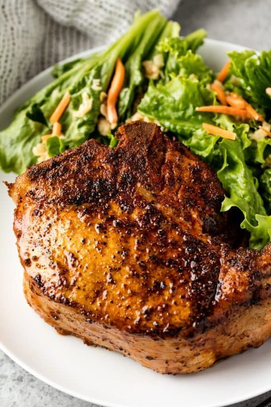 Learn how to make Smoked Pork Chops on a smoker. This recipe is perfect for beginner meat smoking and produces a juicy, smoke filled thick pork chop that is to die for!