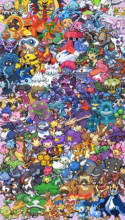Epic Pokemon Generation 4 - Sprite Stitch Wiki - Wikia