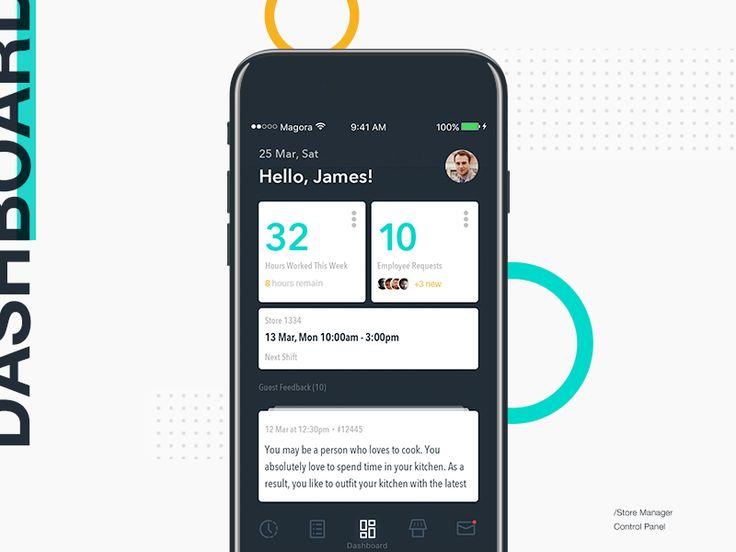 Manager Dashboard | Concept by Alexander Olssen