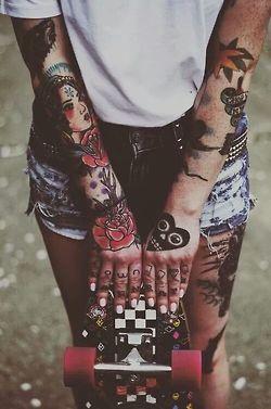 Тату на руке для девушек. Женские татуировки на руке