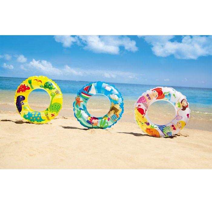 Les bouées gonflables Intex pour que vous enfants s'amusent en sécurité ! #bouée #gonflable #intex #couleur #plage #mer #piscine #raviday