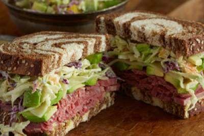 Corned Beef and Killarney Sandwich