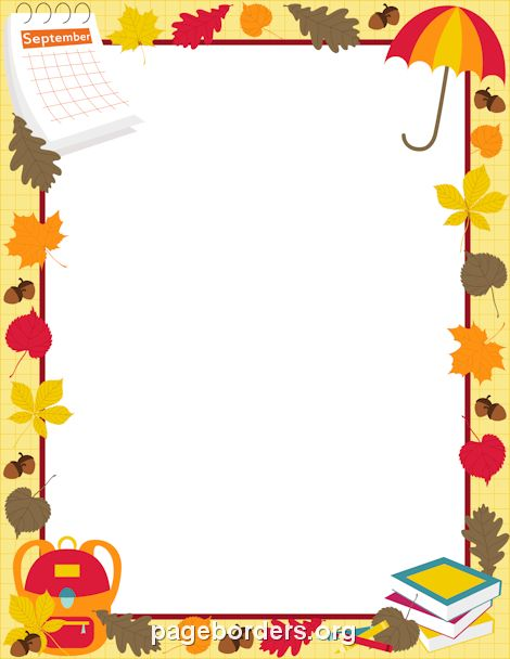 33 best Borders images on Pinterest Decorative frames, Leaves - downloadable page borders for microsoft word