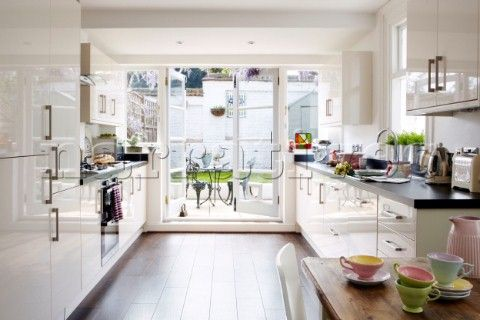 Kitchen Designs With Patio Doors Kitchen Design Photos Kitchen Pinterest Gardens Glosses And Fitted Kitchens