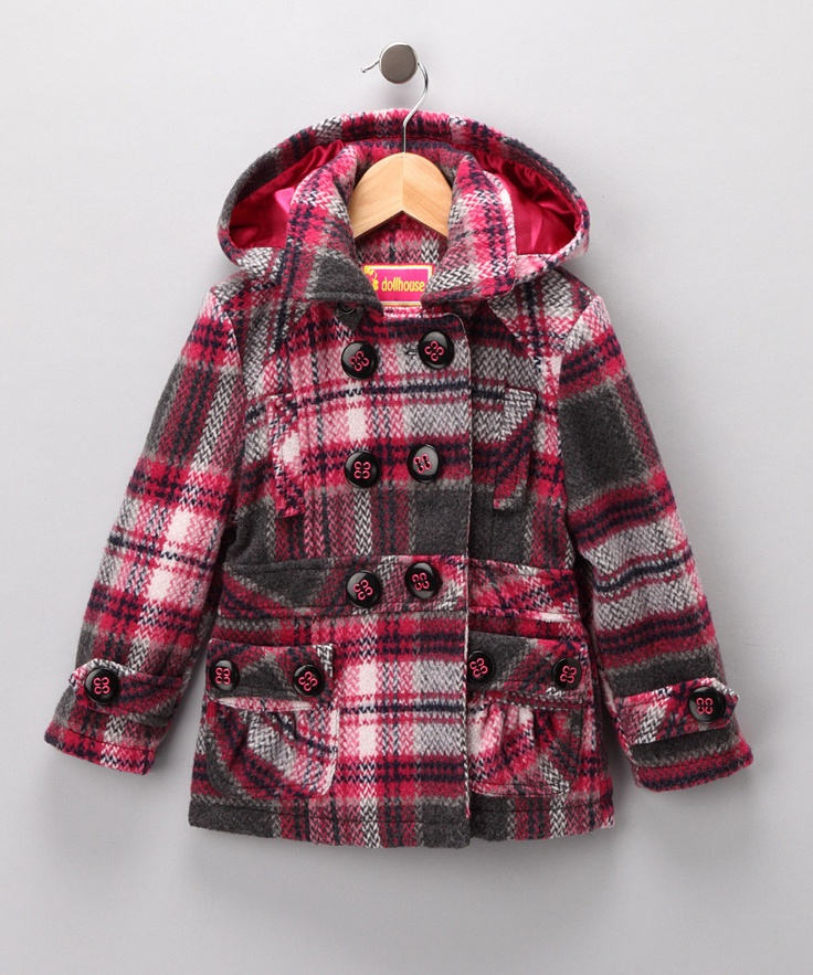 104 best Girl's Coats images on Pinterest | Kid styles, Fashion ...