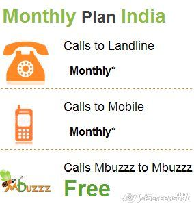 Mbuzzz UK provides an effective plan for calling in India.