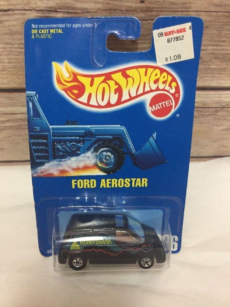 Hot Wheels Ford Aerostar Car Rollerblade #236 New Old Stock #HotWheels #Ford