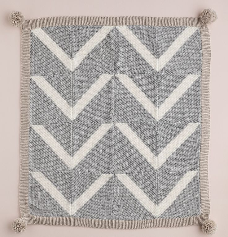 Knit patchwork throw by Patons Australia