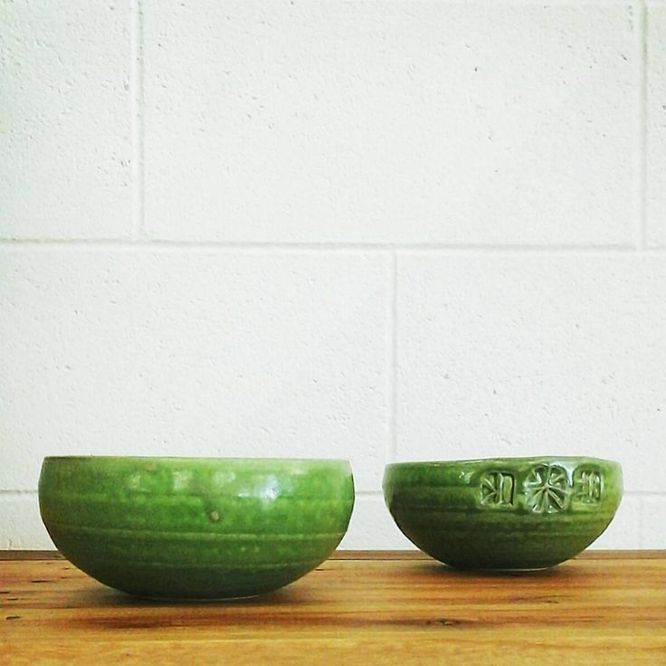 """Green #kimmorgan #buylocal #artisanmade #pottery #shopdisplay #green #buylocal #simplicity #minimal #havelocknorth #hawkesbay"""