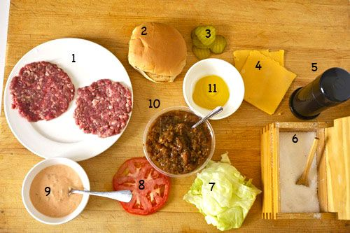 In n Out Burger... recipe, make it at home!  I'm pinning this especially for the recipe for the Spread sauce