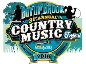 Boyup Brook Country Music Festival 18th - 21st of February, 2016!