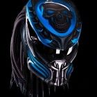 Custom New Predator Motorcycle DOT Approved Helmet - Hand Made
