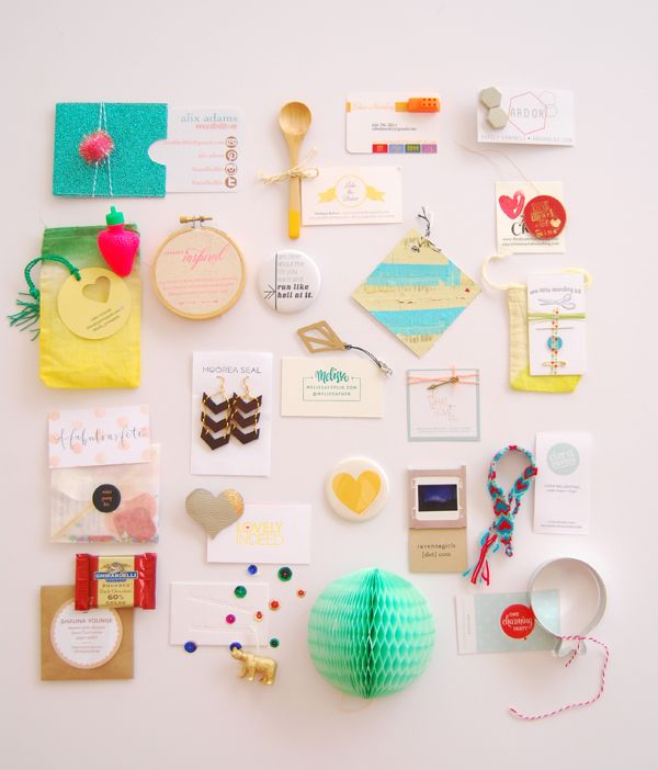 Beautiful & creative business cards from ALT Summit!