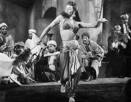 "Mari Blanchard as harem girl Selima in ""The Veils of Bagdad"" (1953)"