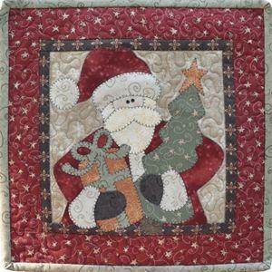 Little Quilts Squared Again! December Santa