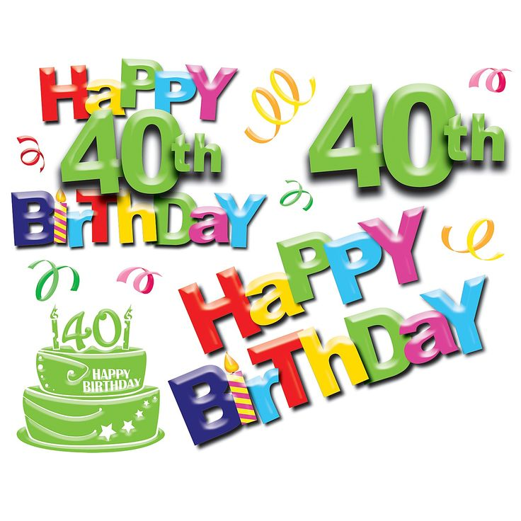 Funny Happy 40th Birthday Images